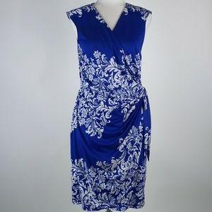 I. N. C. Faux wrap dress size medium.